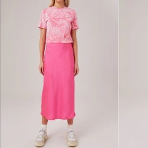 The fifth label population skirt pink small silky